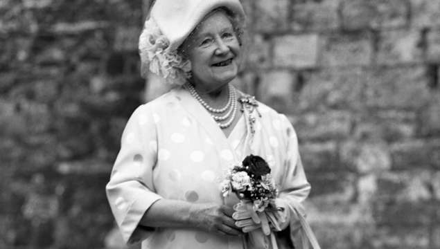 Elizabeth Angela Marguerite Bowes-Lyon aka The Queen Mother.