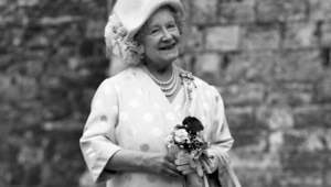 Elizabeth Angela Marguerite Bowes-Lyon aka The Queen Mother.