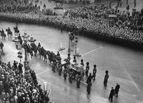 King George VI\'s funeral.