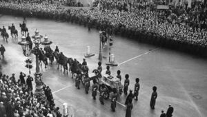 King George VI\'s funeral.