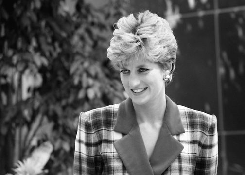 Princess Diana, the Queen of Hearts.