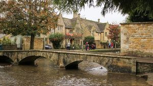 Bourton-on-the-Water, in the Cotswolds.