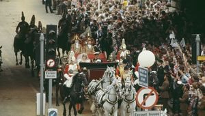 The Royal Wedding 40 years ago.