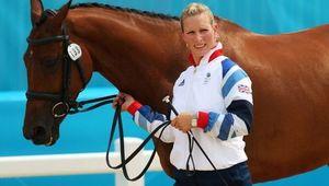 Zara Tindall at the Olympics.