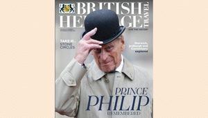 The cover of the Sept / Oct 2021 issue of British Heritage Travel.