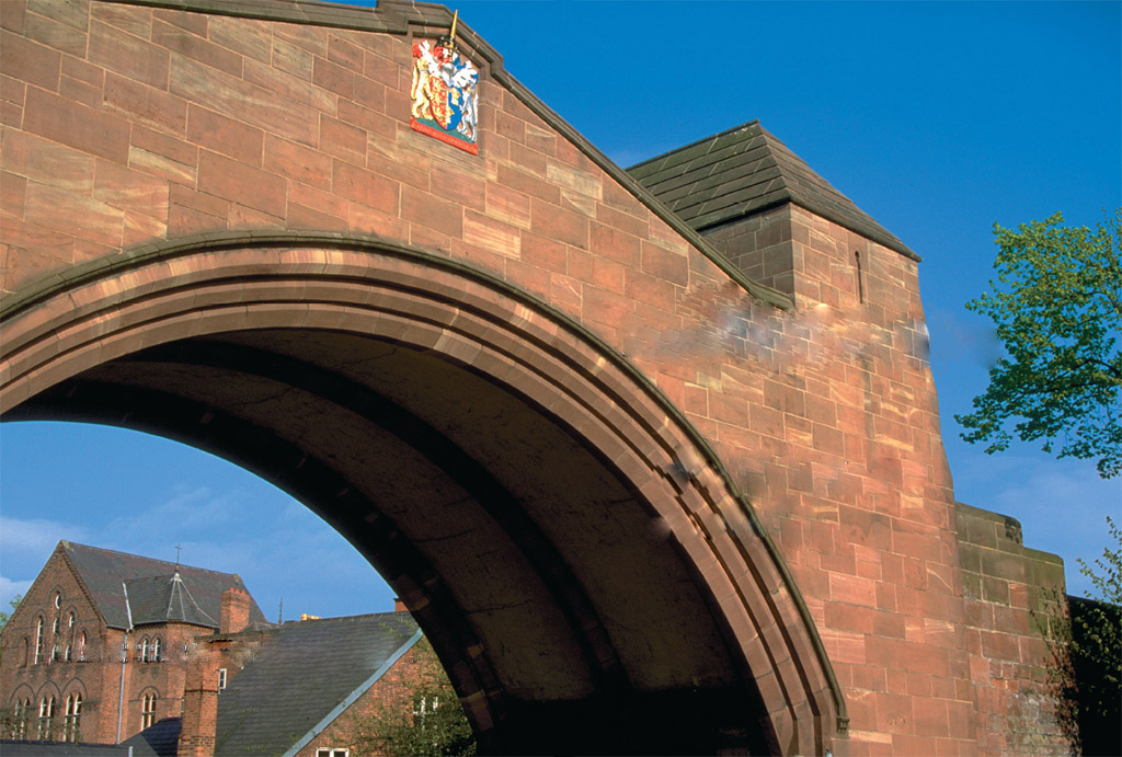 The Great Wall of Chester British Heritage Travel