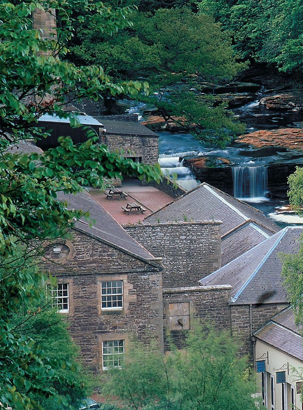 Utopian New Lanark   British Heritage