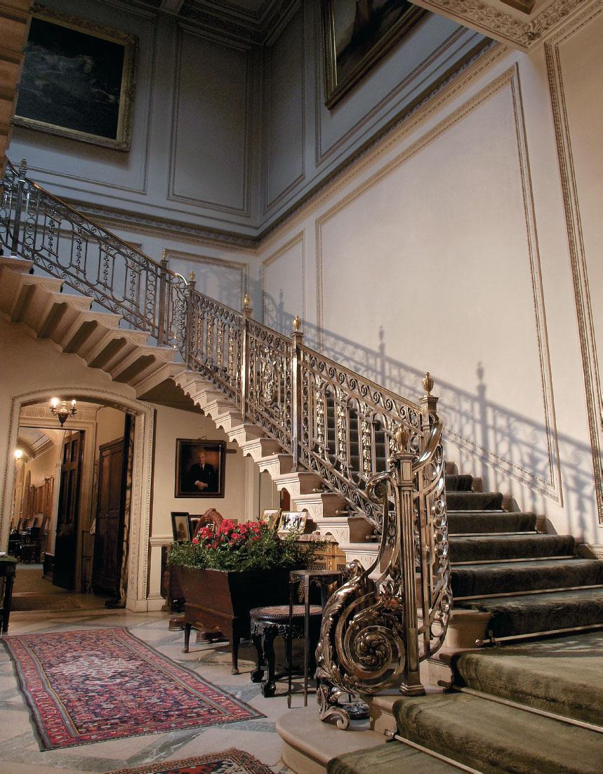Edwardian Manderston House British Heritage