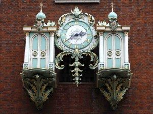 Clock- Fortnum and Mason