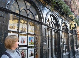 Sandy Rhodes contemplates historic Berry Brothers and Rudd PHOTO Sandra Lawrence