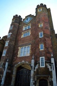 Henry VIII's St James's Palace PHOTO: Sandra Lawrence