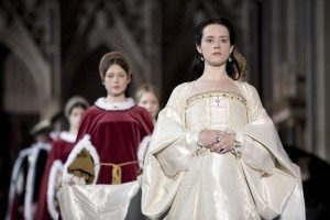 Claire Foy as Anne Boleyn (C) Giles Keyte/Playground Company Pictures for MASTERPIECE/BBC