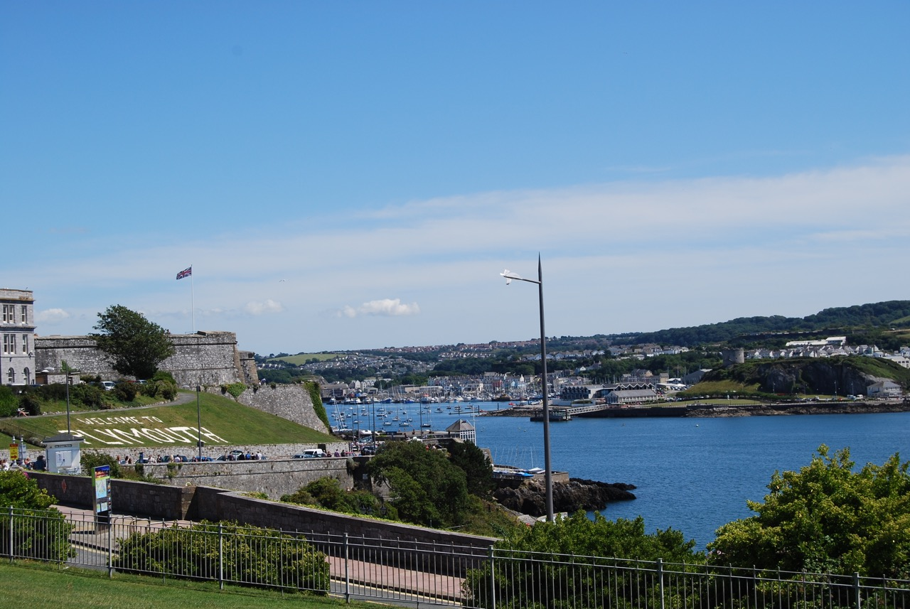 Plymouth, in south west England.