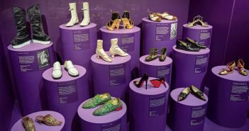 Yes, the hot V&V exhibition of fashion footwear may be of more interest to female readers.