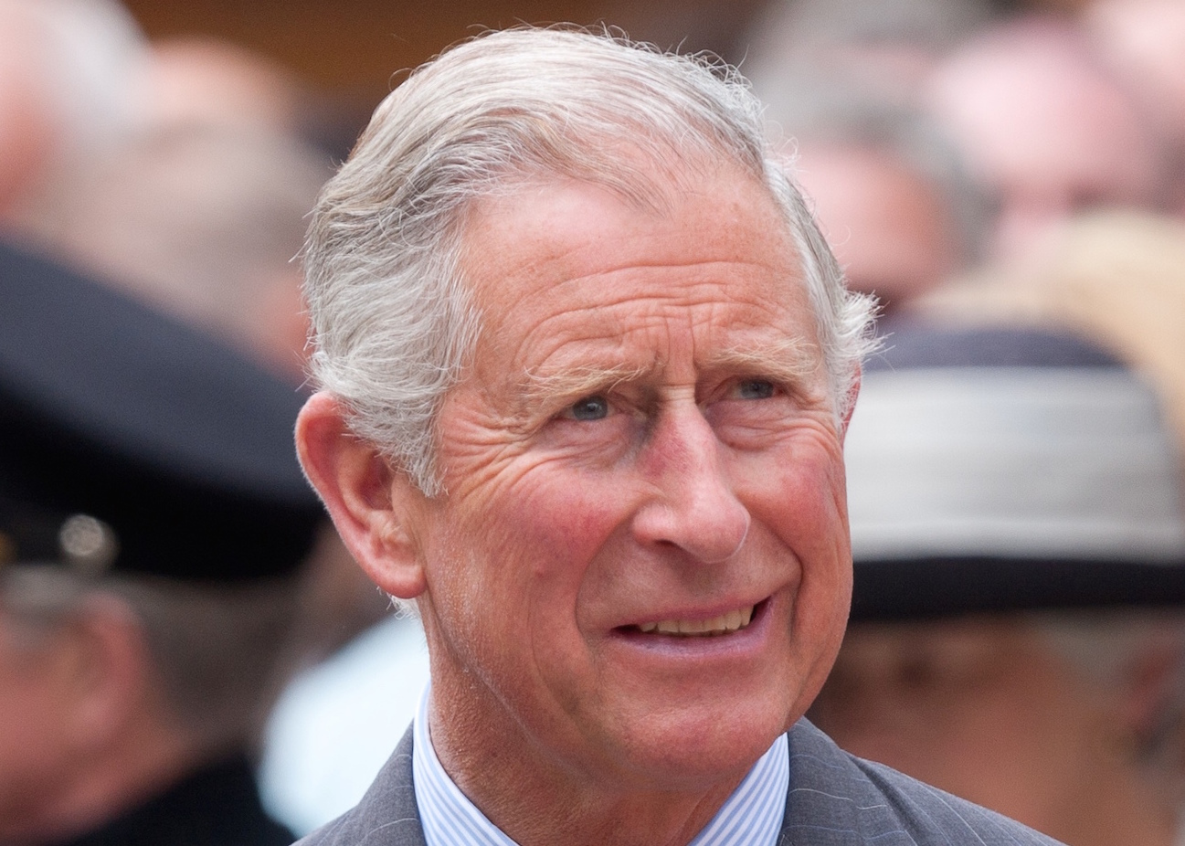 Prince charles giant face