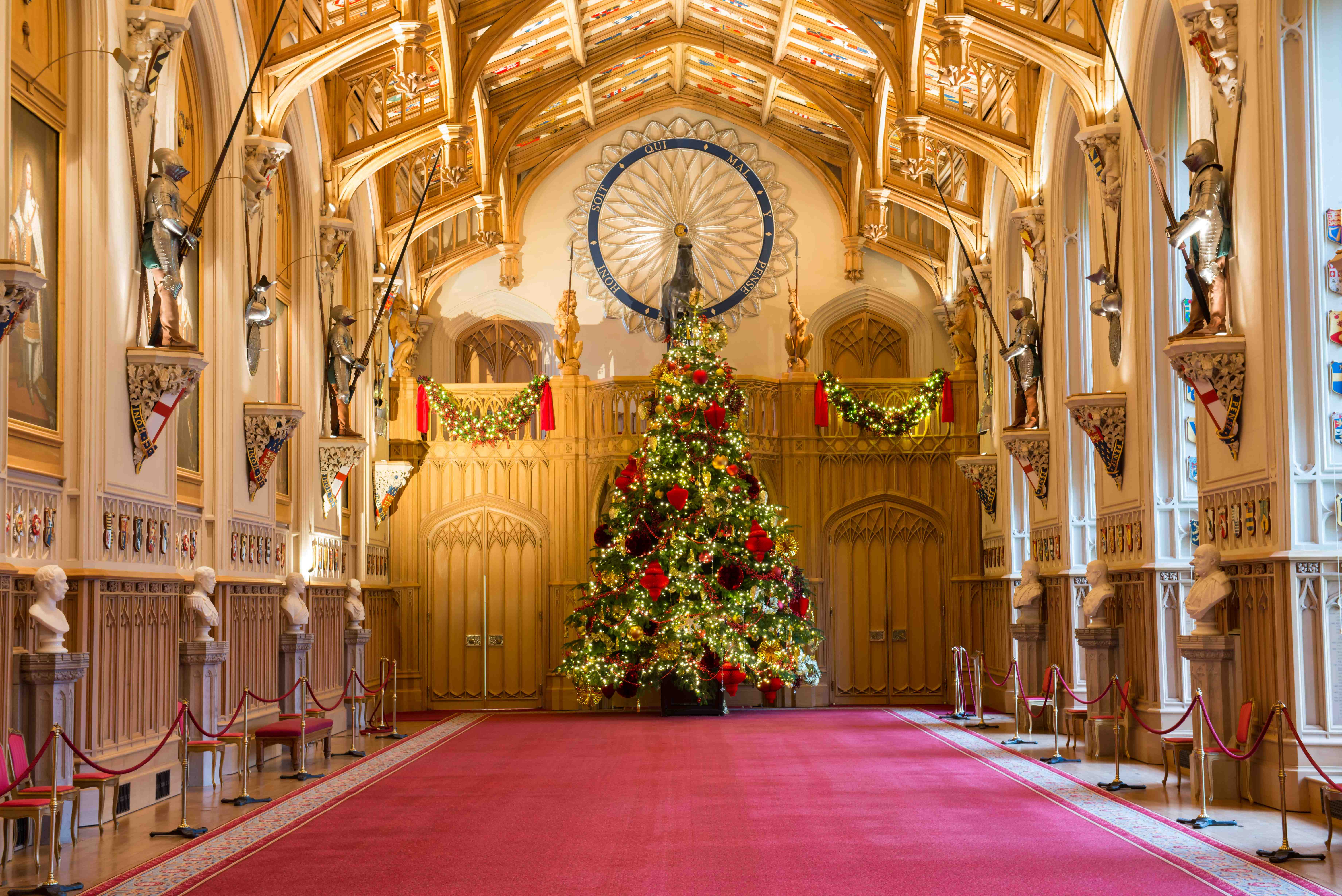 christmas decorations 2014 at windsor castle