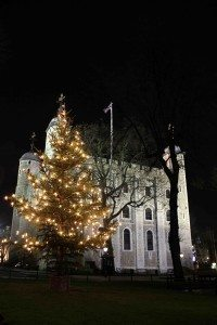 The Tower of London Lights up for Christmas HRP