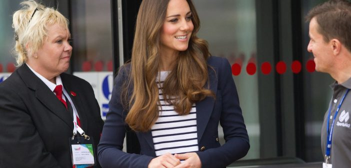 Catherine, Duchess of Cambridge et al. that are talking to each other