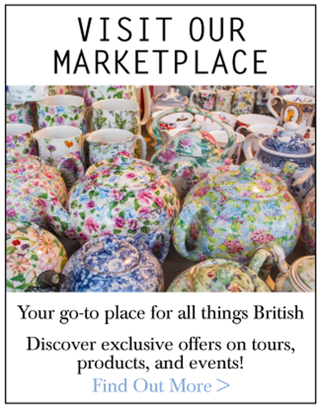 Visit our marketplace: your go-to place for all things British