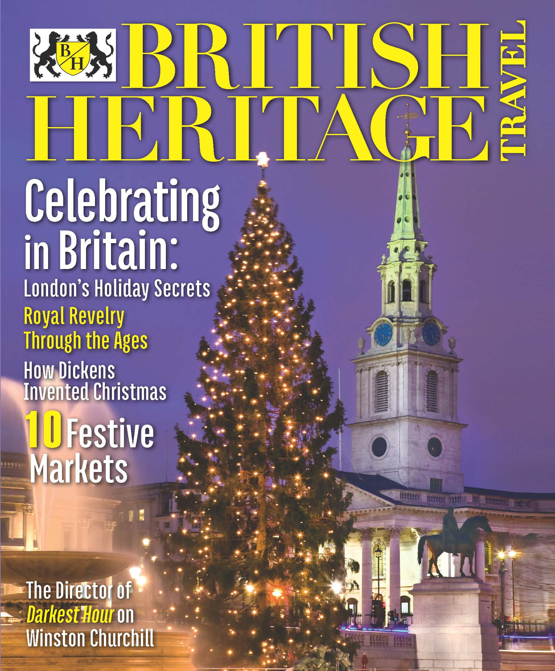 Latest issue of British Heritage Travel Magazine
