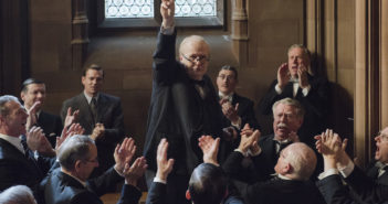 Gary Oldman stars as Winston Churchill in director Joe Wright's DARKEST HOUR, a Focus Features release. Credit: Jack English / Focus Features