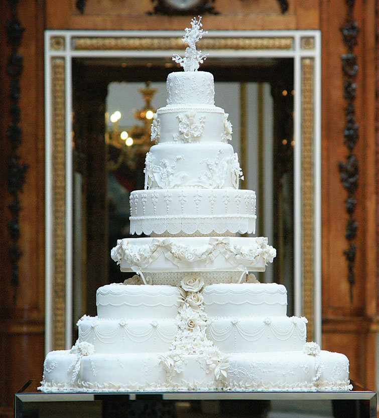 British Royal Wedding Cakes